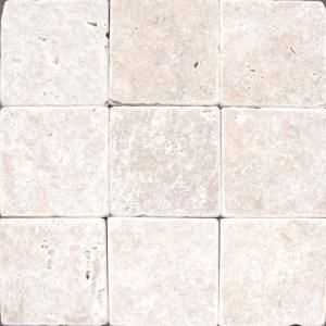 M S International Inc 4 In X 4 In Tumbled Noche Travertine Floor Wall Tile Thdw3 T Nc4x4t At The Home Depot Travertine Floors Flooring Wall Tiles