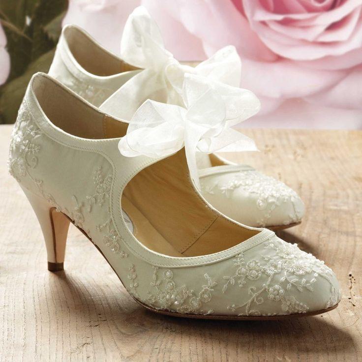 Comfortable And Stylish Wedding Shoes Ivory Silkvintage