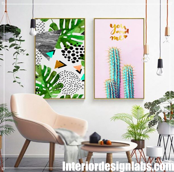 Interior Design Ideas for Living Room Walls is part of Living Room Art Botanical - Looking for decorative solutions for the wall of your living room  First of all, review the latest fashion wall decorations  Then decide which one will suit your living room the best and start practicing with your own additions  First, set a budget for this change  Determining the budget is very important to complete the decor as …