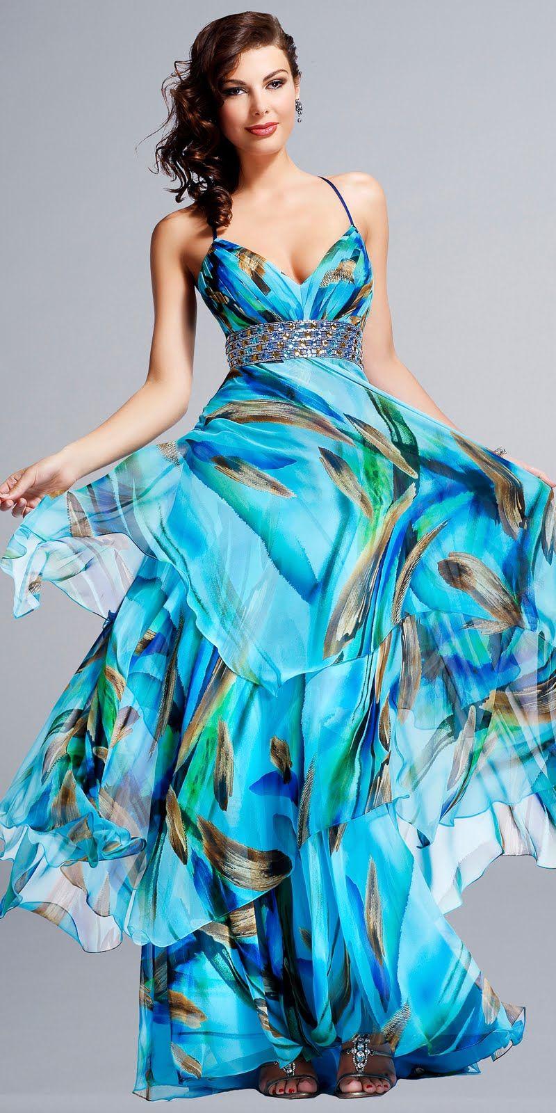 Ocean Dress | Carolyna\'s world | Style | Pinterest | Dream closets ...