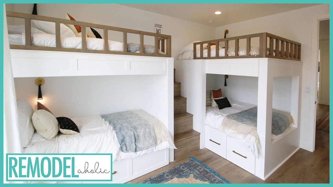cool bunk bed room ideas for kids room tours in 2020 on wonderful ideas of bunk beds for your kids bedroom id=14435