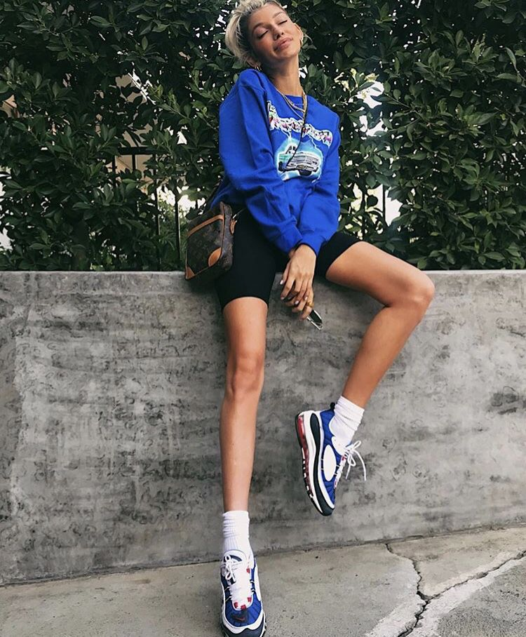 Bike shorts outfit