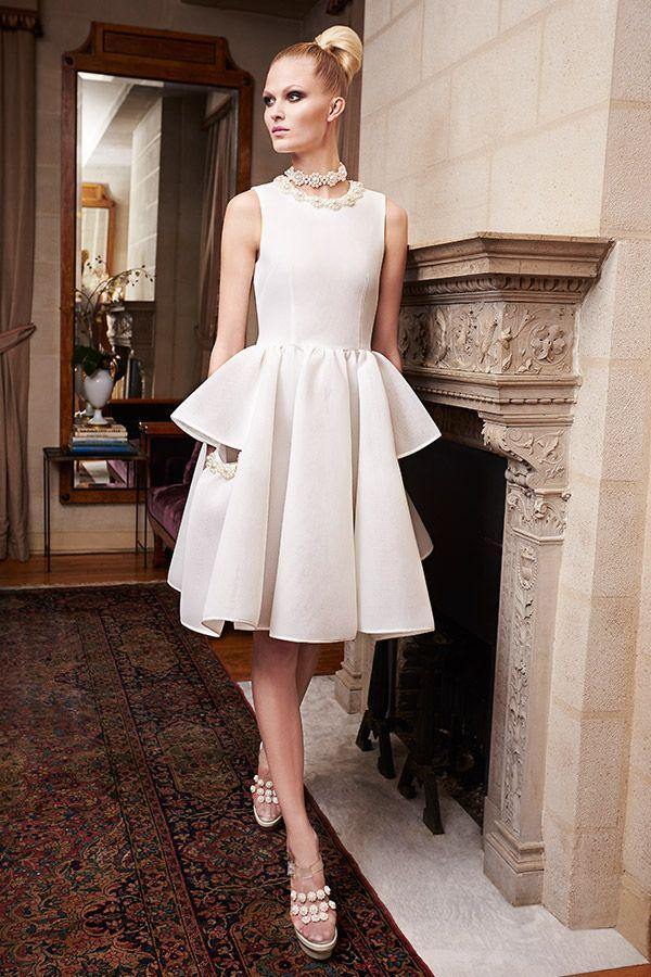 Stunning Simone Rocha Style Pearl Dressfashion Eventsbridal