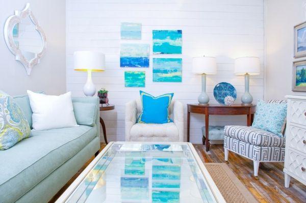 Coole Einrichtungsideen Blaue Elemente Interieur Pinterest