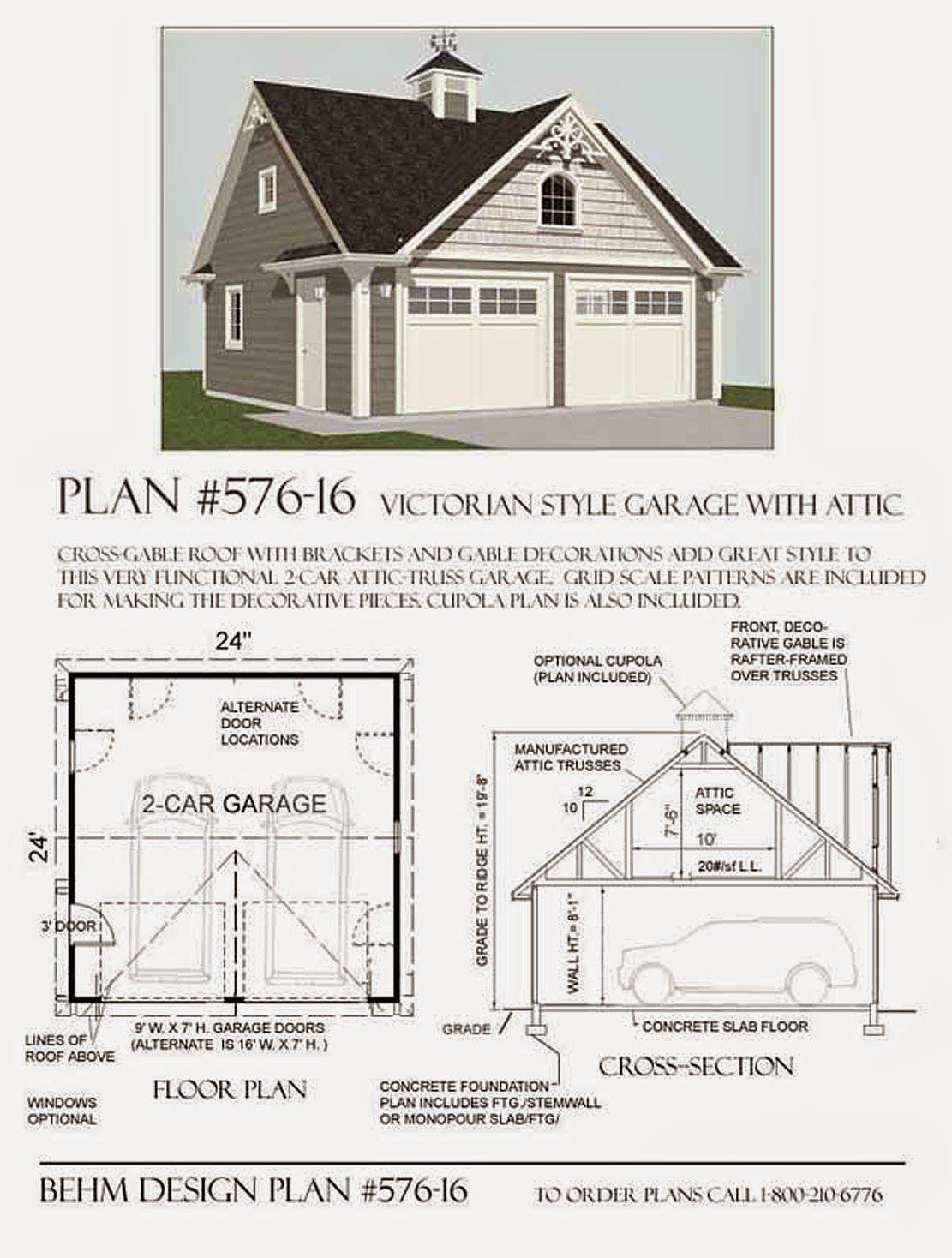 Garage Plans Blog Behm Design Garage Plan Examples Garage Plans 2 Car Garage Plans Garage Plan