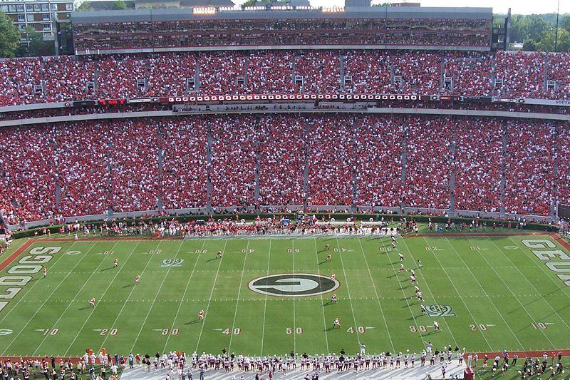 Georgia Football Stadium One Day We Will Go Georgia Bulldogs Football College Football Tickets Sanford Stadium