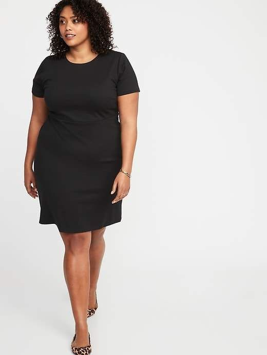 00d71022f9313 Plus-Size Ponte-Knit Sheath Dress in 2019 | Products