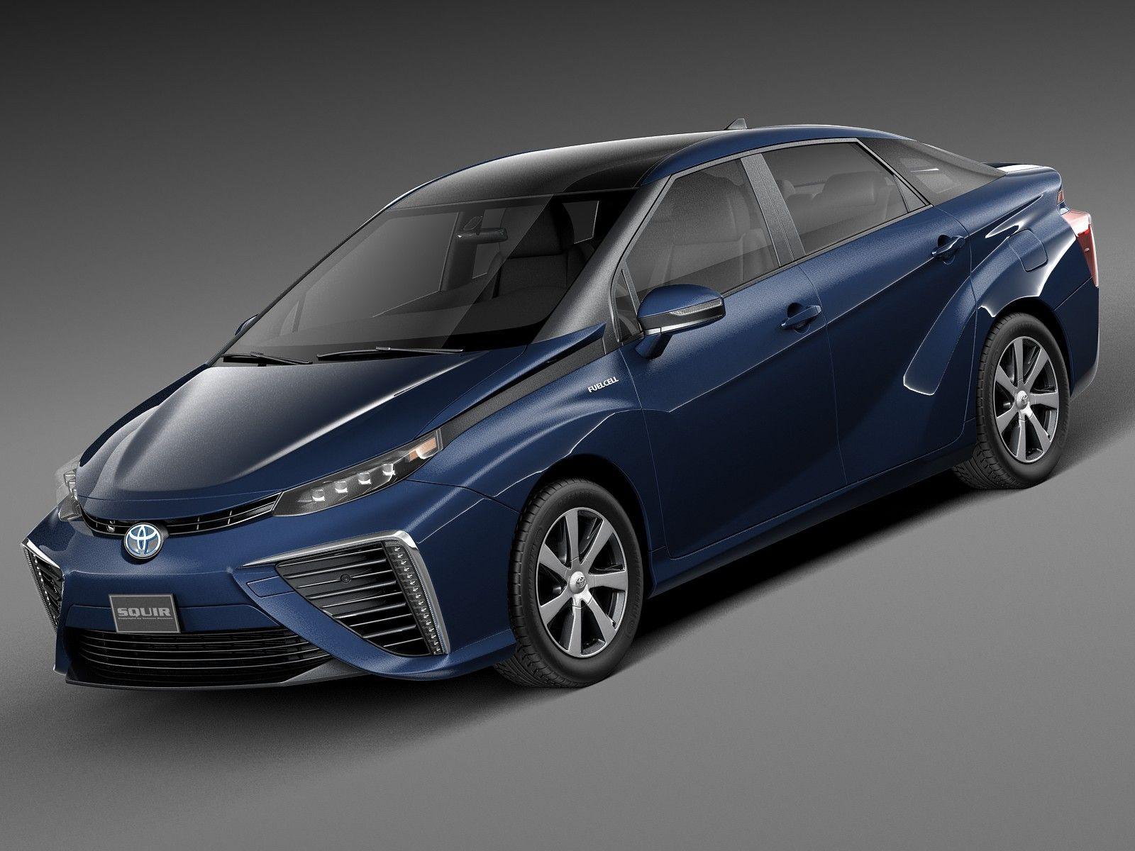 3D 2016 Toyota Mirai - 3D Model