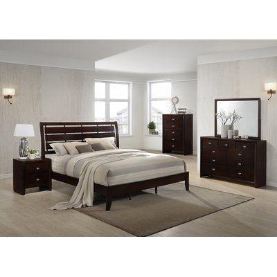 Ebern Designs Willenhall Platform 5 Piece Bedroom Set 5 Piece Bedroom Set Bedroom Sets Wood Bedroom Sets