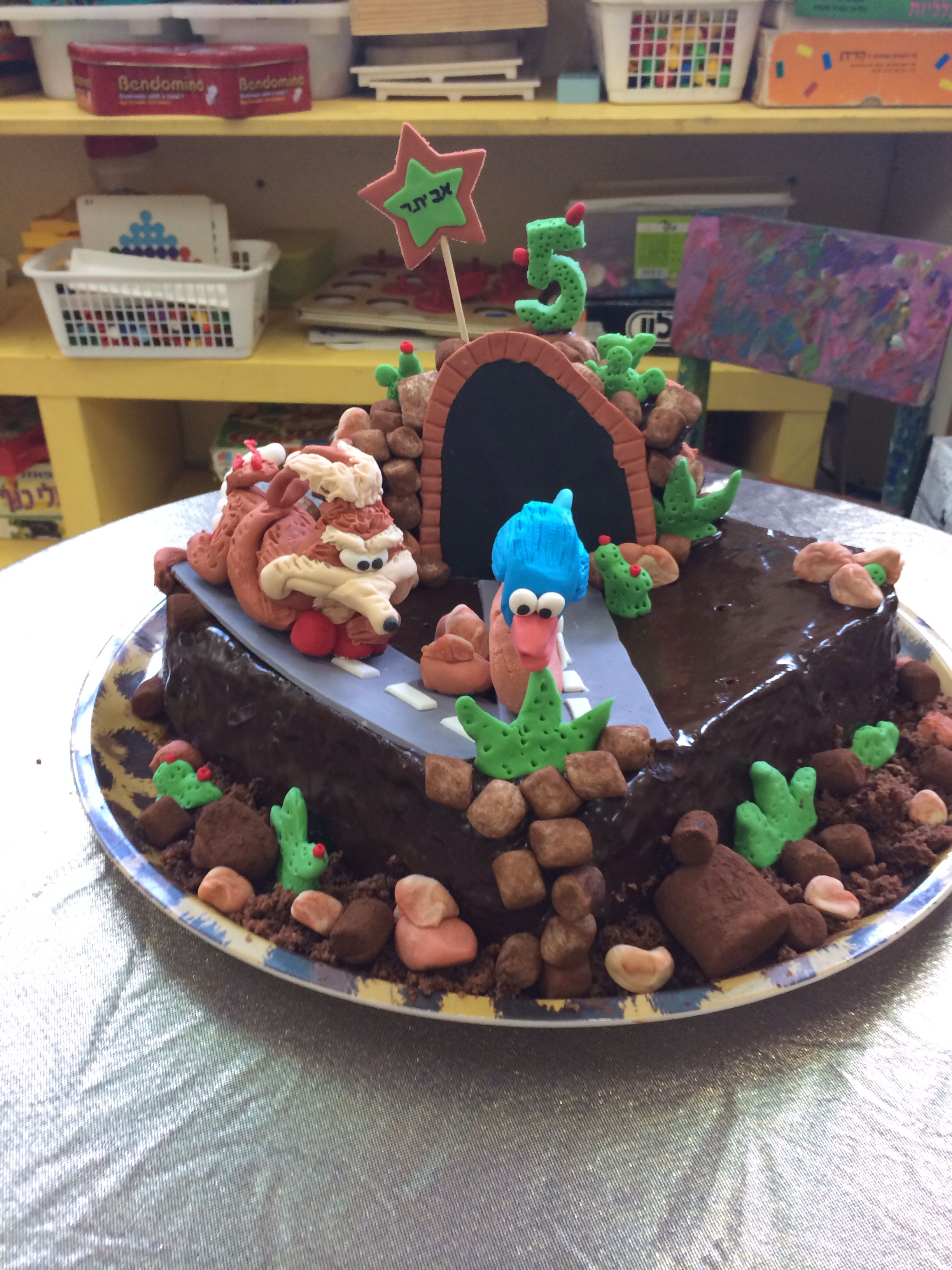 Roadrunner cake