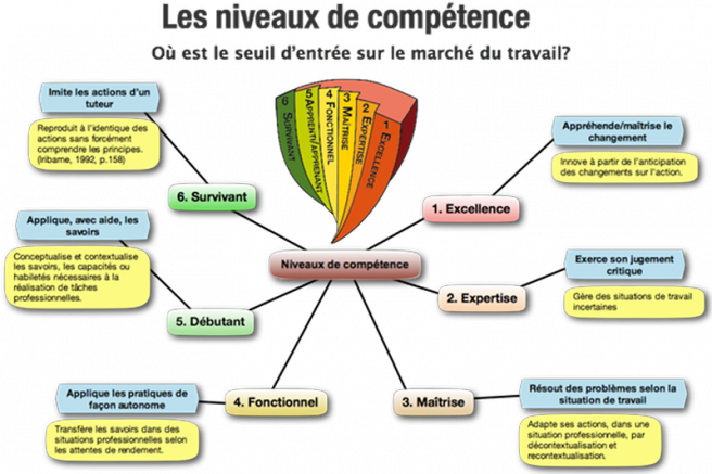 difference competence profil cv