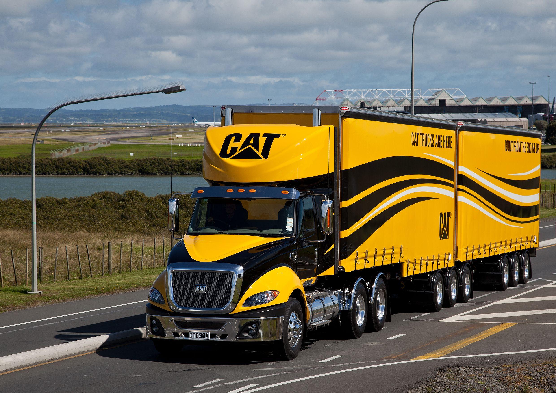 Cat Truck in New Zealand Trucks, Dump trucks, Heavy duty