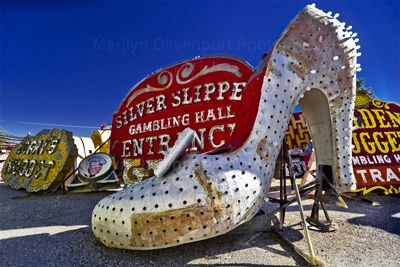 Sliver Slipper by Marilyn Davenport.  Part of the permanent collection in the Museum of Printing History.