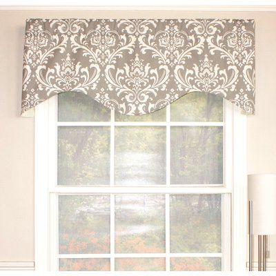 gray insight of home brown red ticking blue aqua stripe beautiful valance new black window curtain