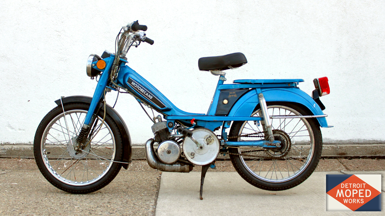 Sold For 1050 This Motobecane Romp Features New Tubes And Tires 4 Wheeler Fuel Filter Line