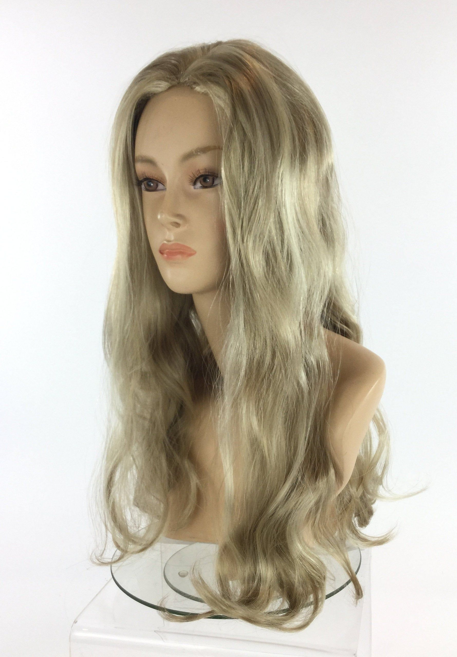 Tiger Lady Carol Premium Quality Theatrical Costume Wig By Etsy In 2020 Green Wig Frontal Hairstyles Grey Hair Color