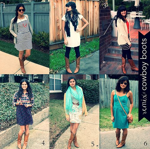 7b964a7d551 6 Ways To Wear Your Cowboy Boots! from perfectlypriya.blogspot.com  Affordable Fashion