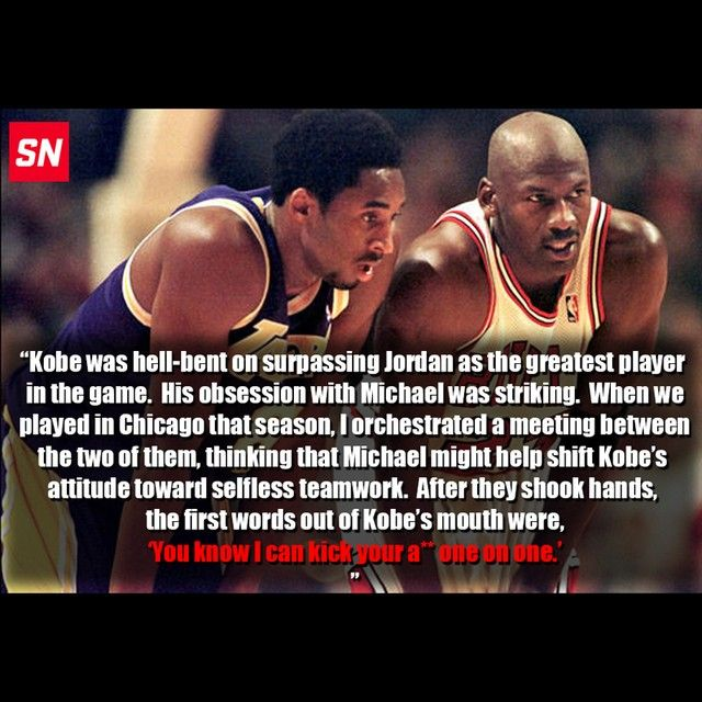This Phil Jackson quote right here sums up Kobe Bryant in a nutshell.