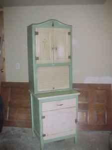 Hoosier Cabinet. Rare Apartment Size.   $275 (Sturbridge Area.)