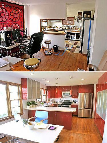 kitchen remodel before and after 2 homeremodelingbeforeandafter in 2019 home improvement on kitchen organization before and after id=57529