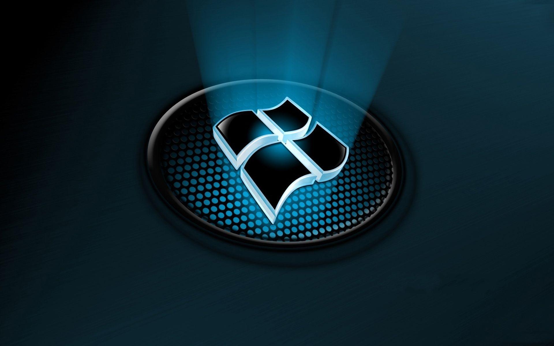 3d Ventanas Logotipo Fondos De Pantalla De Primavera Fondos Pantalla Windows 10 Pantalla De Pc
