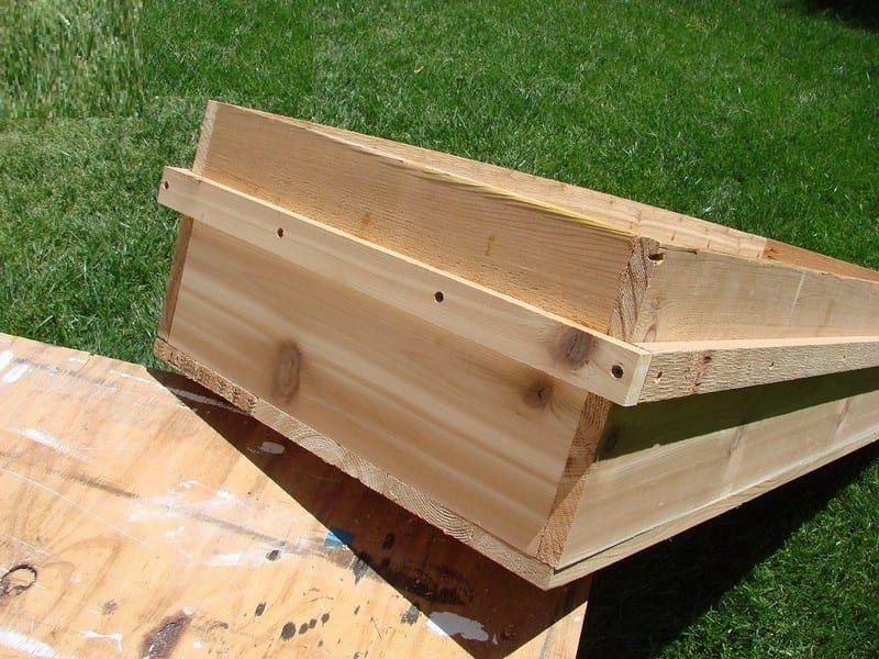 DIY Waist High Planter Box | Planter boxes, Garden planter ...