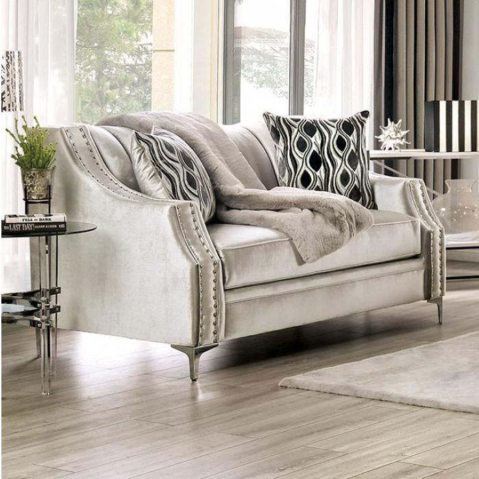 Elicia Love Seat Tampa Bay Mattresses In 2020 Furniture Furniture Of America Love Seat