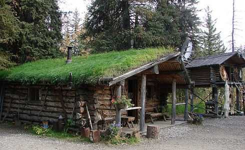 Located In Alaska These Sod Roof Houses Are Eco Friendly