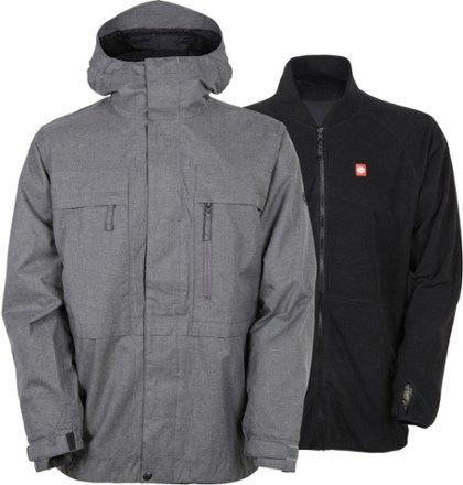 686 Men's Authentic Smarty 3-in-1 Form Jacket