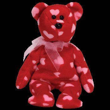 SMOOCH the Kisses Love Bear Stuffed Animal Teddy See Store NEW! TY Beanie Baby