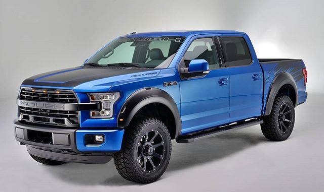 The 2016 Roush F150 Sc In Blue Flame Is One Of Our Favorite Colors