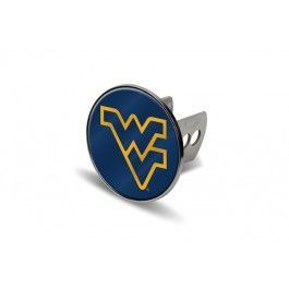 West Virginia WVU Mountaineers Laser-etched Trailer Hitch Cover #wvumountaineers West Virginia WVU Mountaineers Laser-etched Trailer Hitch Cover #wvumountaineers
