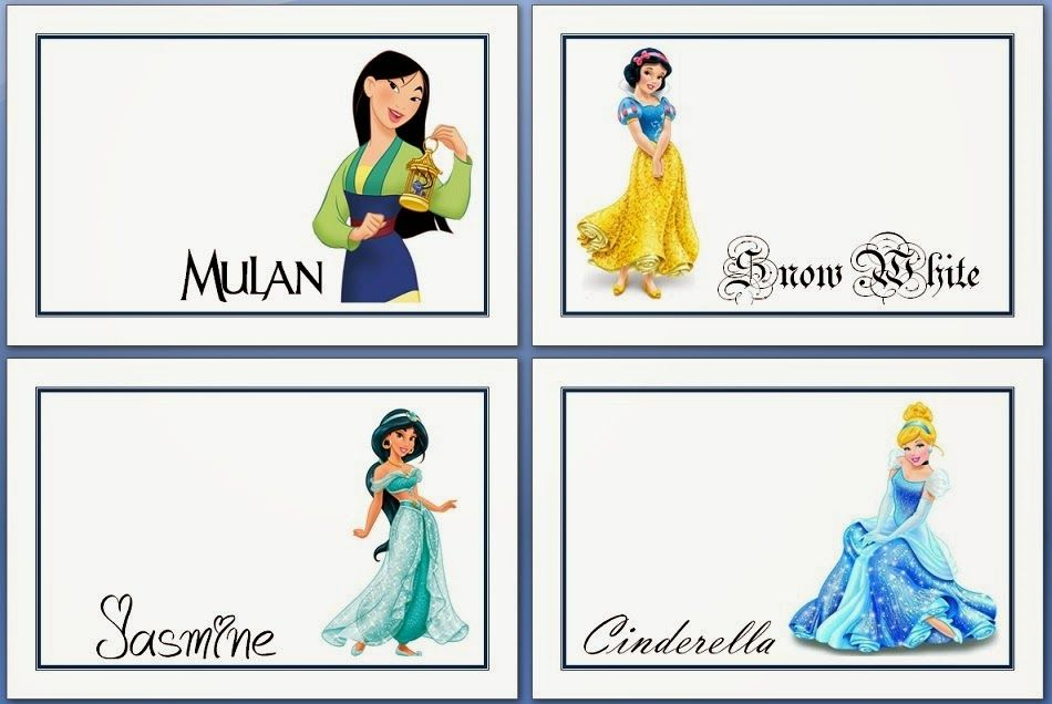 Crafty D\'s Printables: More Disney Autograph Pages | Disney World ...