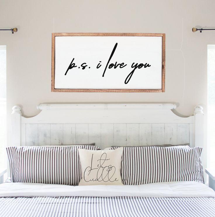 P.S. I Love You - SVG - cut file, digital file, printable wall art, wood sign design