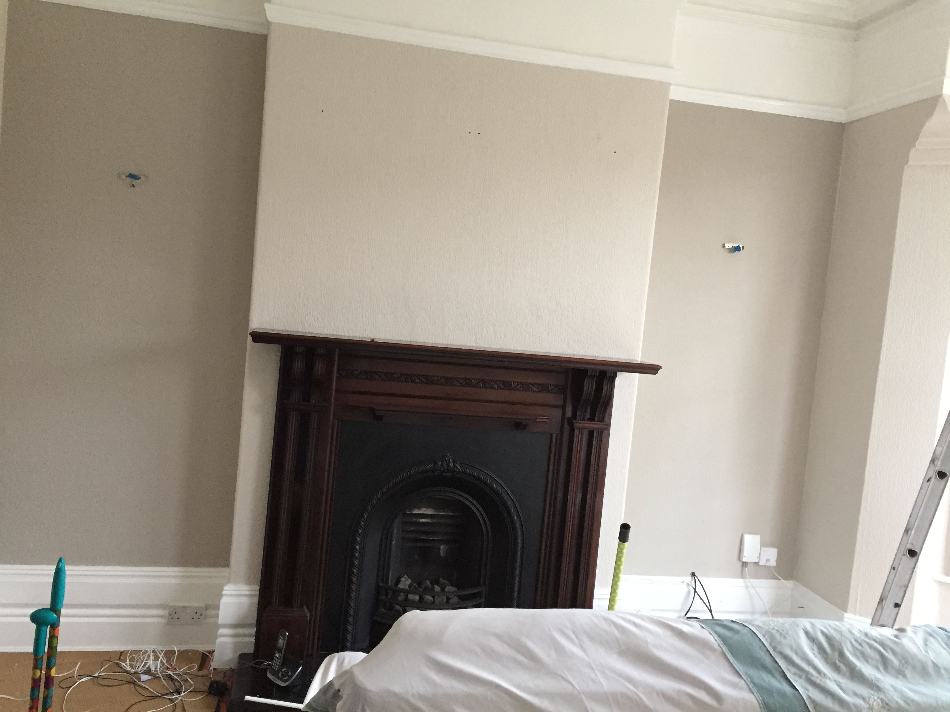 Farrow ball walls skimming stone alcoves Farrow and ball skimming stone living room