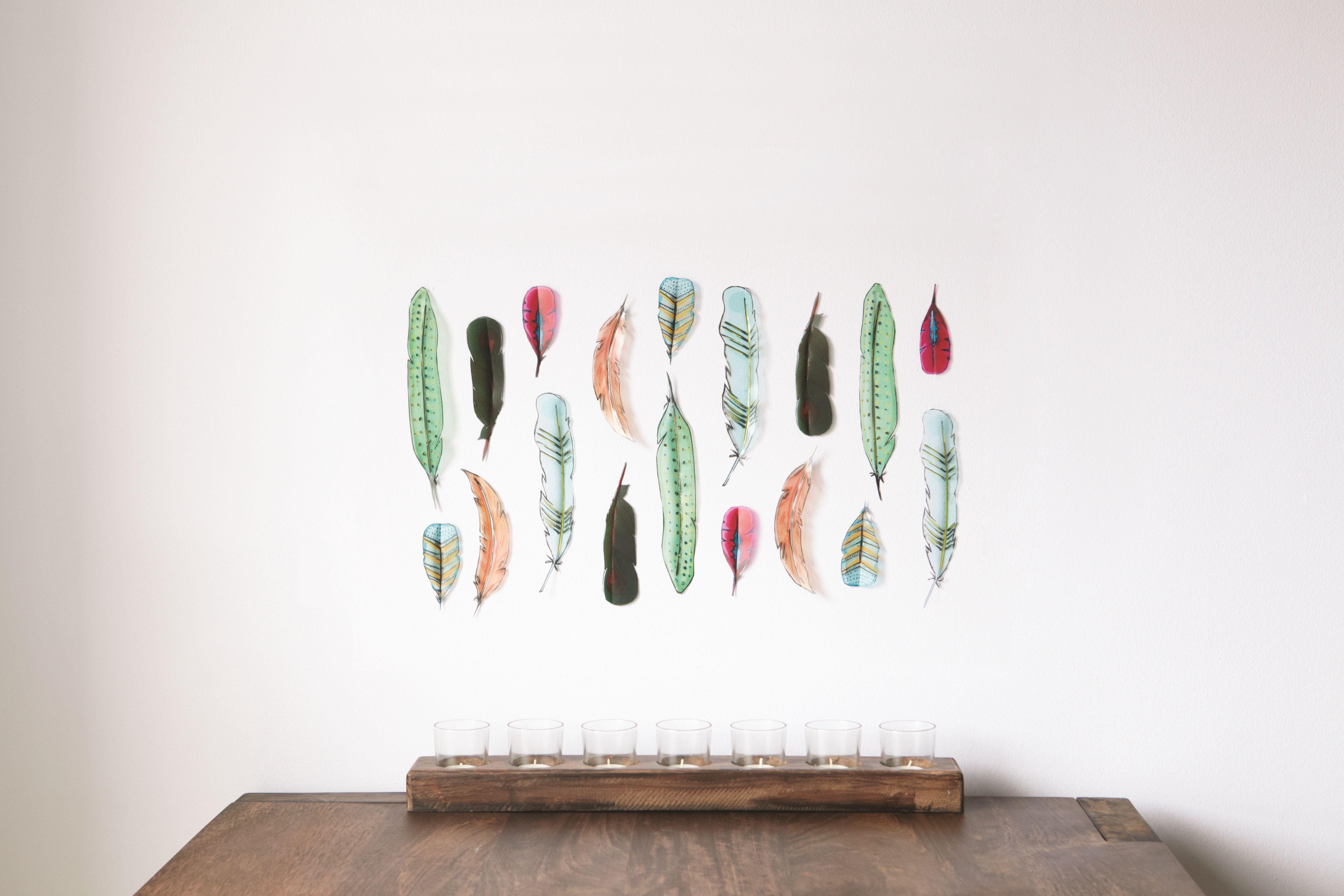 FEATHERS Wall Decor by Youssef Sayarh / Alan Wisniewski.