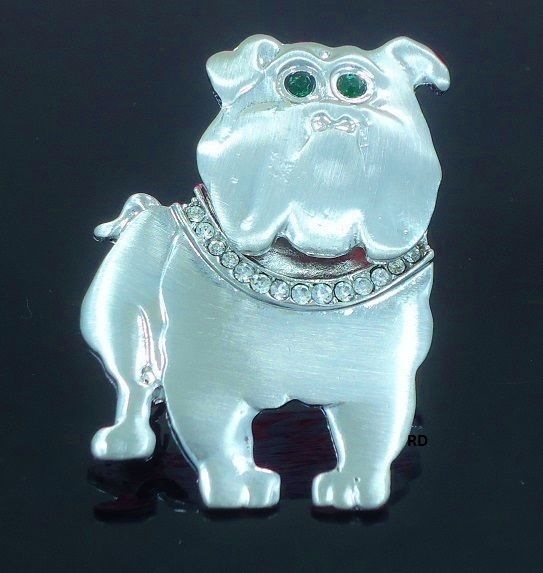 Details About For Bulldog Dog Breed Lovers Super Cute Brooch Silver Plated Pin Brooch Dog Breeds Super Cute Animal Jewelry