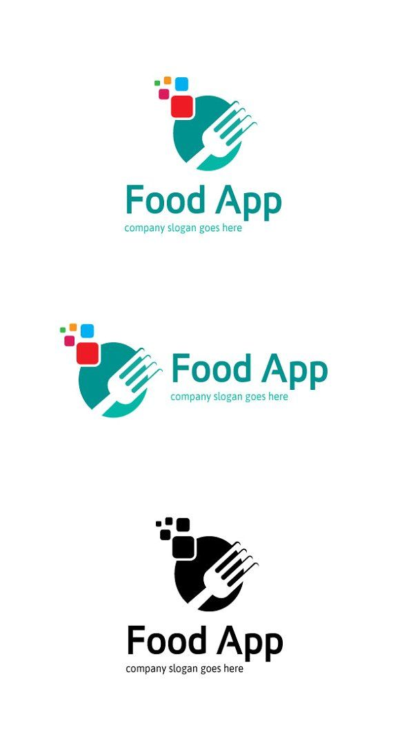 Food App Logo Food App App Logo Business Card Logo