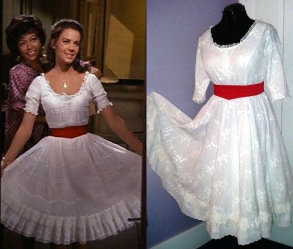 Maria West Side Story The Broadway Musical Movie Theater Costume Replica  Dress Dress