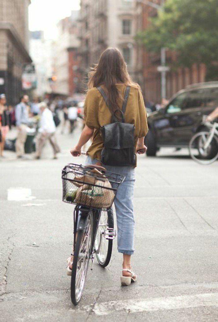 sac a dos en cuir noir design pour les filles modernes