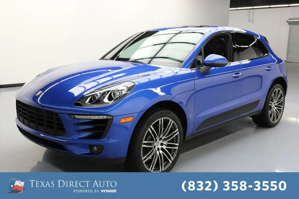 For Sale 2017 Porsche Macan S Texas Direct Auto 2017 S
