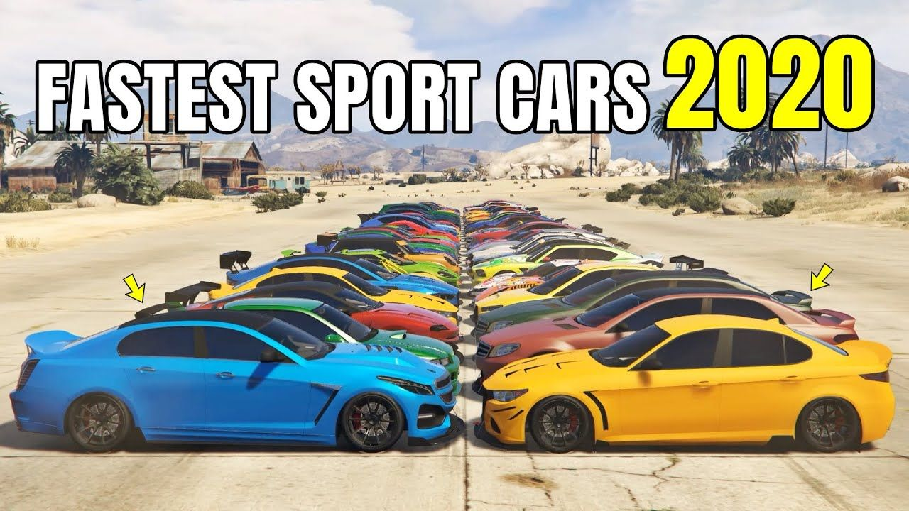 GTA 5 Online FASTEST SPORT CARS 2020 RANKED FROM