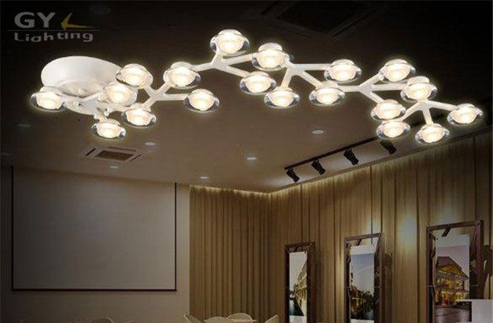 Aliexpress.com : Buy AC100 240V White LED Ceiling lights Modern Art ...