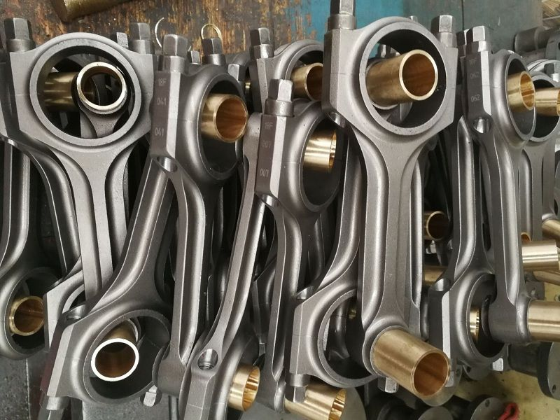 Volvo B5 5 Cylinder 139 5mm Connecting Rods Are Forged From Sae 4340 Chrome Moly Steel For The Highest Strength And Durability De Forged Steel Volvo Volvo 850
