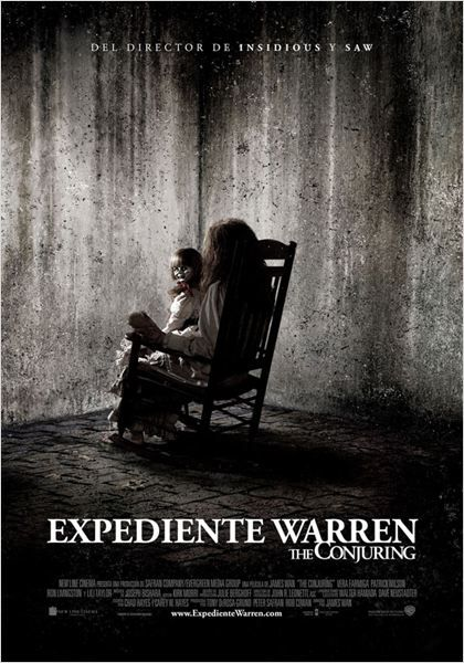 Expediente Warren The Conjuring 2013 De James Wan Scary Movies Scary Movies To Watch Best Horror Movies