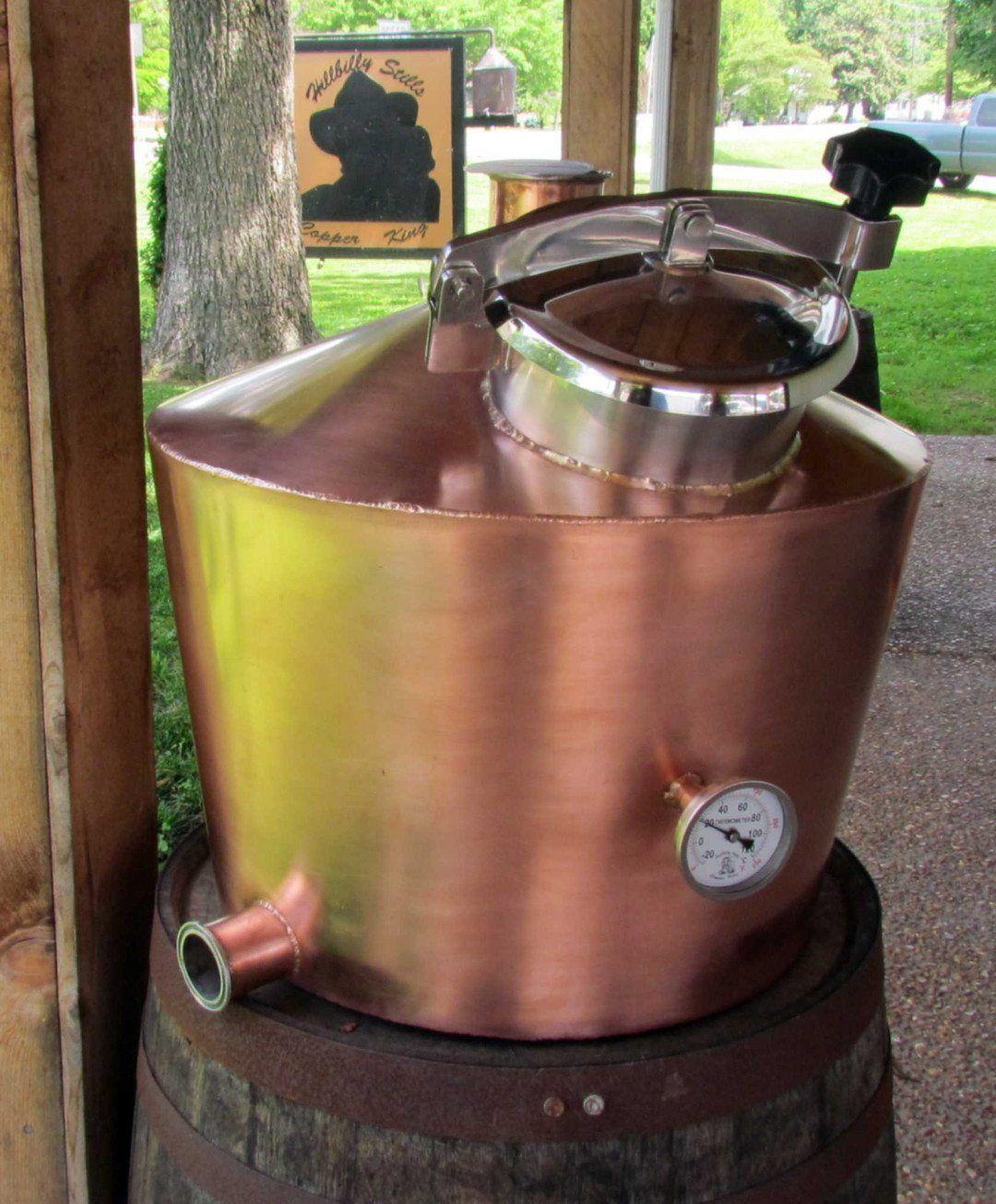 20 Gallon all Copper Kettle in 2019 | Copper Moonshine Still