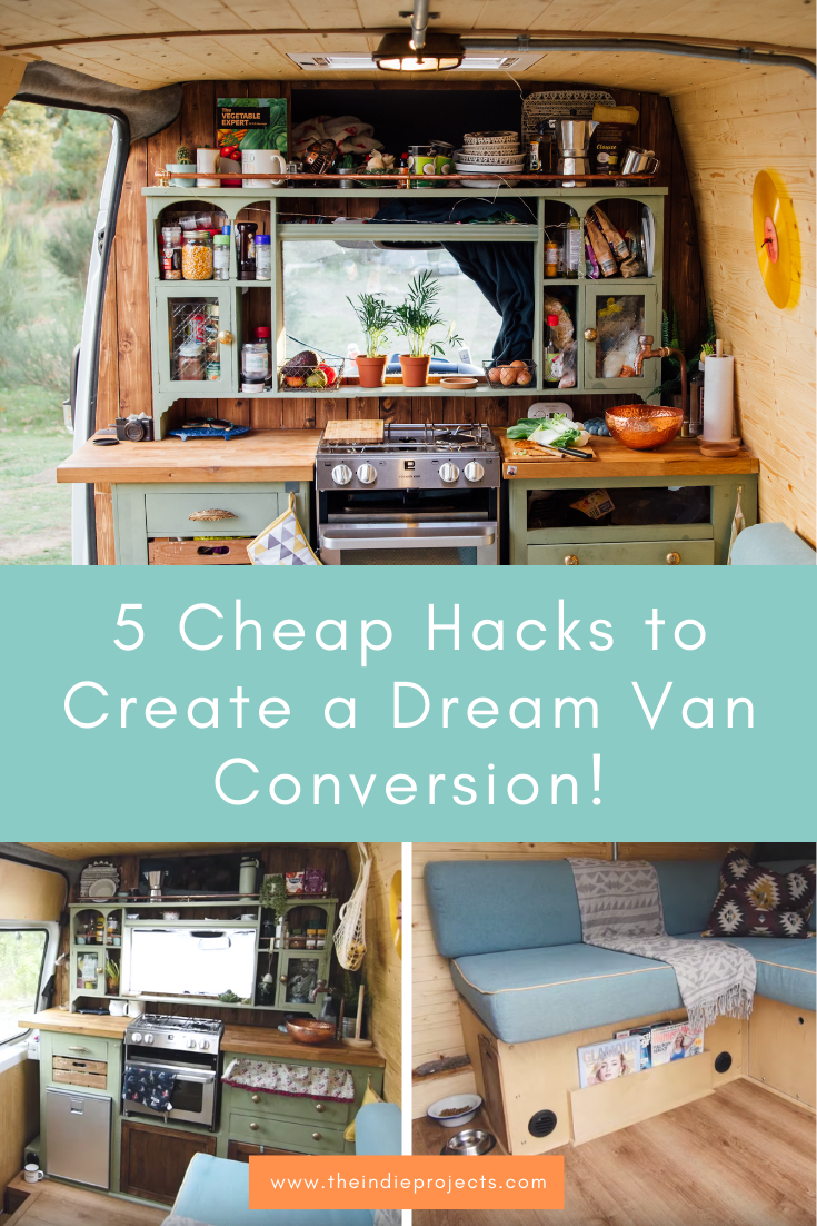 Photo of 5 Cheap Hacks for Dream Van Conversion — The Indie Projects