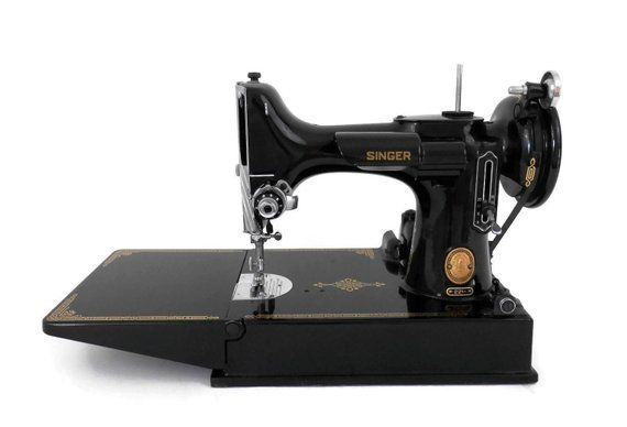 Singer Featherweight Sewing Machine Model 221 1 Portable Electric