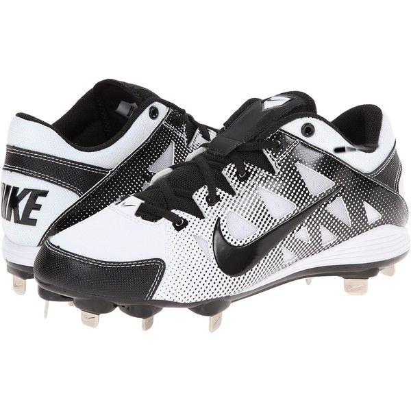 Womens Shoes Nike Hyperdiamond Strike MTL Black/White