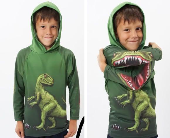 Blusa Dinossauro para crianças.   ROCK'N TECH